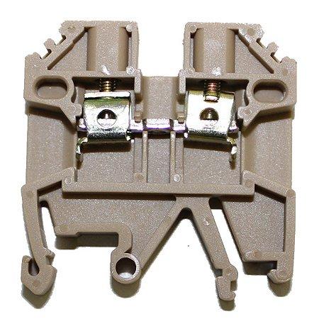 CONECTOR DE PASSAGEM 2,5MM P/ TRILHOS TS32 E TS35 - BEGE MTB2,5EN