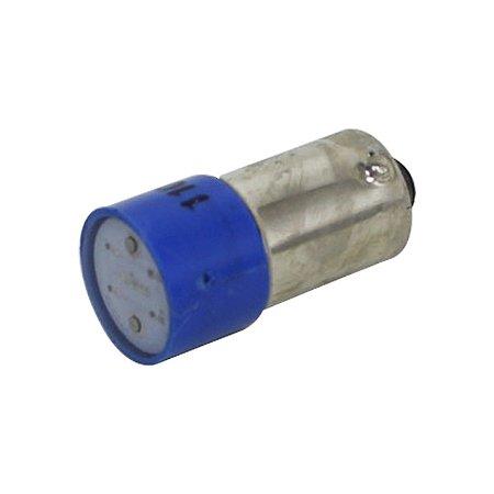 LED AZUL BA9S - 220VCA/CC L1-2-BL
