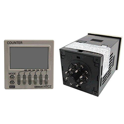 contador digital/ multi função/ 6 dígitos/ saída a rele/ 1NAF/ 12-24 VDC/ 8 pinos  H7CZ-L8D1