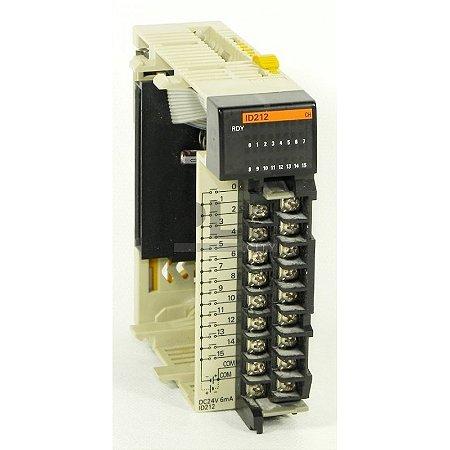 modulo de entrada CQM1-ID212  16 entradas 24 Vcc ( 1 comum )  CQM1-ID212