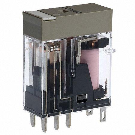 RELE ELETROMEC. INTERFACE, DPDT, P/SOQUETE, C/LED  G2R-2-SND DC24(S)