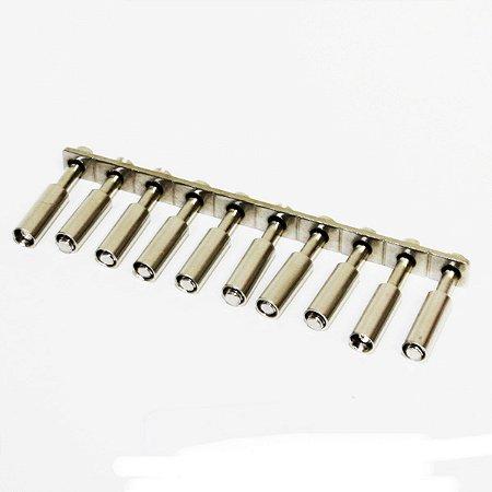 PONTE CONECTORA FIXA PARA CONECTOR MTB6 - COM 10 TERMINAIS  MAQ6-10