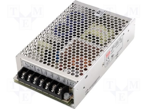 FONTE CHAVEADA 100W INP: 110/220V OUT: 12VCC 8,5A  RS-100-15