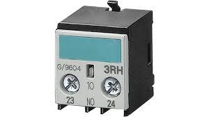 bloco de contato auxiliar, frontal, 1NA, entrada por cima, para contator S00 3RH19111AA10