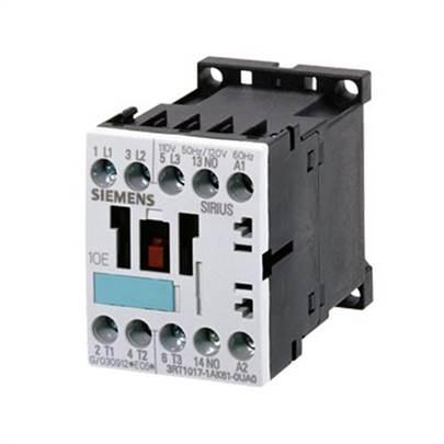 contator forca tri 9A, 110 VCA, 1NA, 60HZ 3RT1016-1AG11