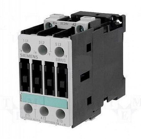contator forca tri 9A, 240 Vcc, 60HZ 3RT1023-1BM40