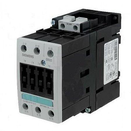contator forca tri 40A, 125 Vcc, 60HZ 3RT1035-1BG40