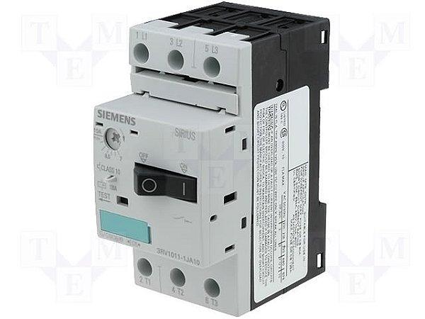 disjuntor motor, 7-10A, tamanho S00, sem bloco 3RV1011-1JA10