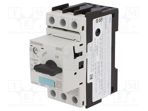disjuntor motor, 14-20A, tamanho S0, sem bloco 3RV1021-4BA10