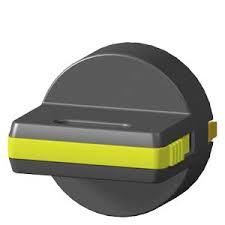 manopla preto 3VT9100-3HE20, com bloqueio por cadeado, para disjuntor 3VT1