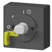 acionamento externo preto IP66 3VT9100-3HG20, disjuntor 3VT1 3VT9100-3HG20