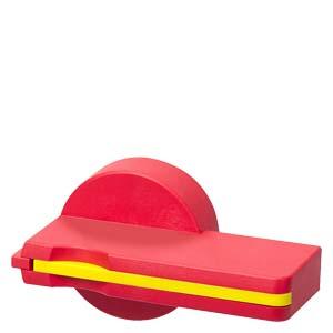 manopla vermelha 3VT9300-3HF20, com bloqueio por cadeado, disjuntor 3VT2/3VT3