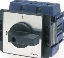 seccionador tri, 50A, montagem frontal 5TW30501