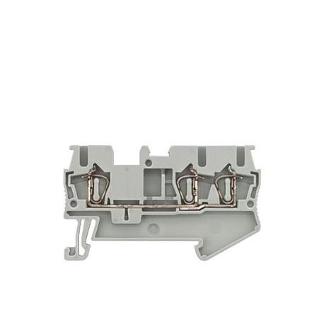 conector de passagem/2,5mm/cinza/mola para3 condut 8WH2003-0AF00