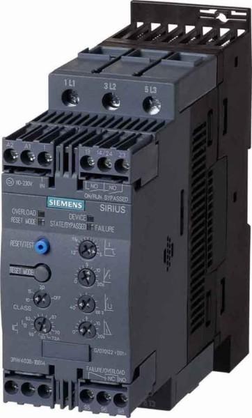 SOFTSTARTER 3RW40 63A/200-480V/...230V   3RW4037-1BB14