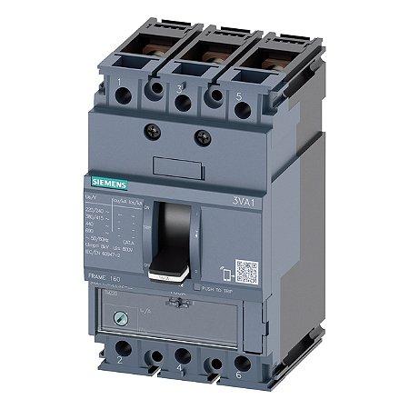 DISJ 3P 160A 55KA 380V TM240 ATAM 3VA11   3VA1116-5EF36-0AA0