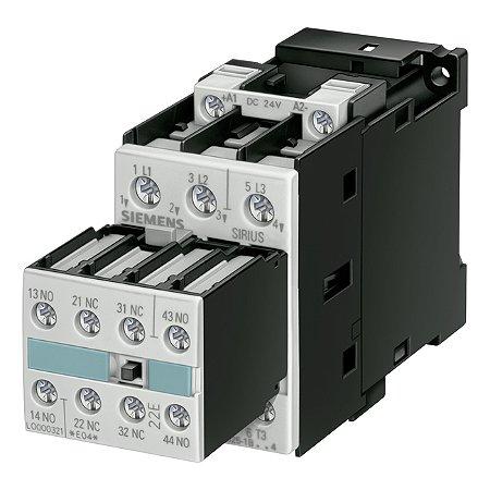 CONTATOR 3RT10 25-1BB44 24VDC   3RT1025-1BB44