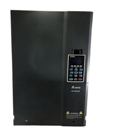 Inversor de Frequência 100CV (75KW) - Modelo C2000 - 380/480 Volts - Trifásico - Standard - utilizado para variação de velocidade de motores elétricos. DELTA VFD750C43A