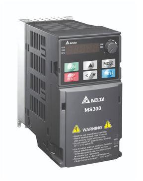 Inversor de Frequência 3CV (2,2KW) - Modelo MS - 220 Volts - Trifásico - Standard - Sem filtro EMI - Com STO - Frequência Normal de Saída DELTA VFD11AMS23ANSAA