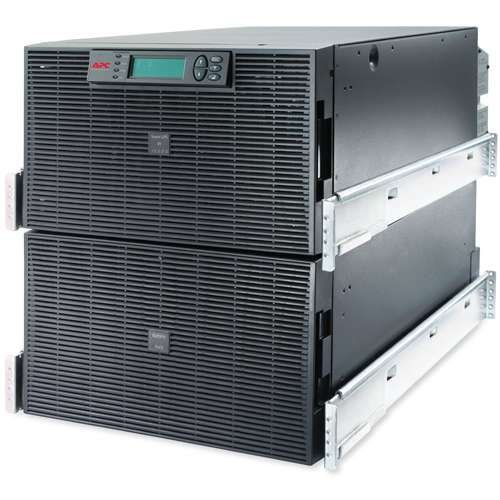 SURT15KRMXLI - No-break Smart-UPS RT da APC, 15 kVA e 230V, para rack - Monofásico 230V (F+N+T) | Trifásico 380V (F+F+F+N+T)