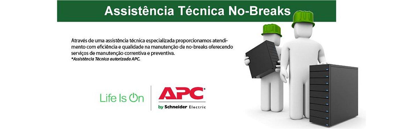 ASSISTÊNCIA TÉCNICA DE NO BREAKS APC - TROCA DE BATERIAS E CONSERTO ON-SITE