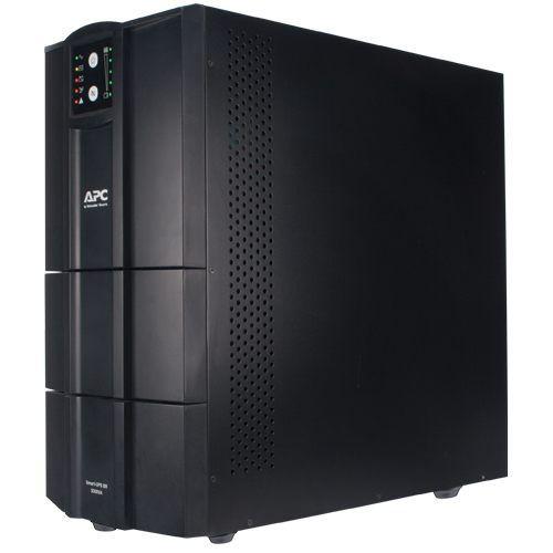 Nobreak inteligente Smart-UPS BR da APC 3000 VA, 115/220 V, Brasil - SMC3000XLBI-BR