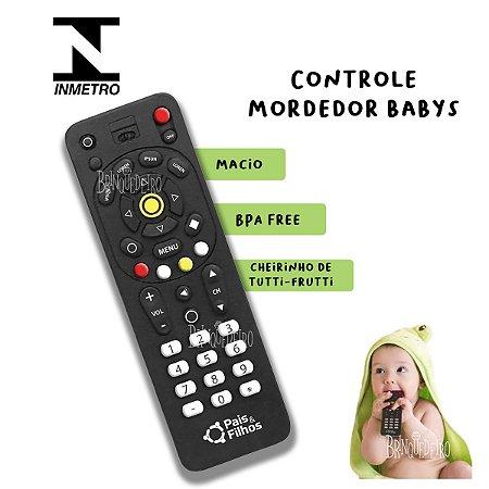 Brinquedo Mordedor Meu Controle Para Bebês