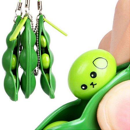 Chaveiro Ervilha de Apertar Fidget Toys