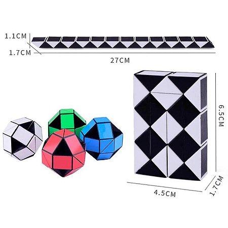 Cubo Snake Infinito Xadrex Fidget Toy