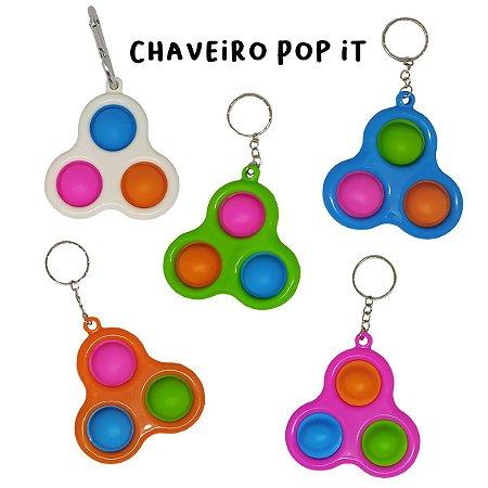 Chaveiro 3 Pop It Dimple
