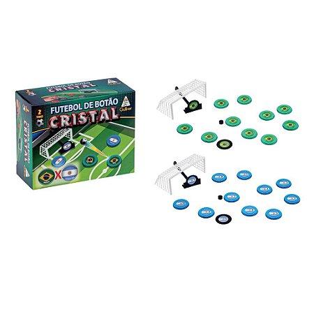 Jogo futebol de botão cristal