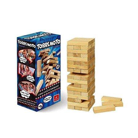 Jogo Terremoto clássico em forma de blocos