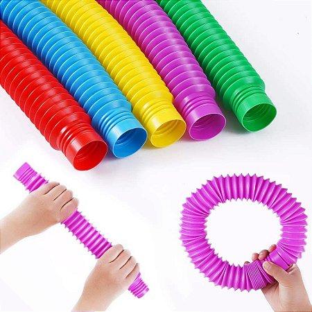 Pop Tube pop it Tubo colorido G fidget toy