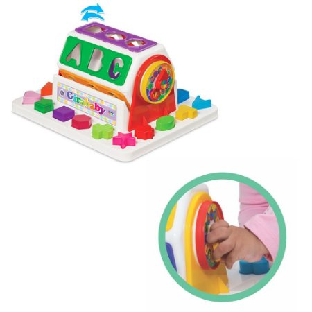 Brinquedo Girababy Didático em forma de Container