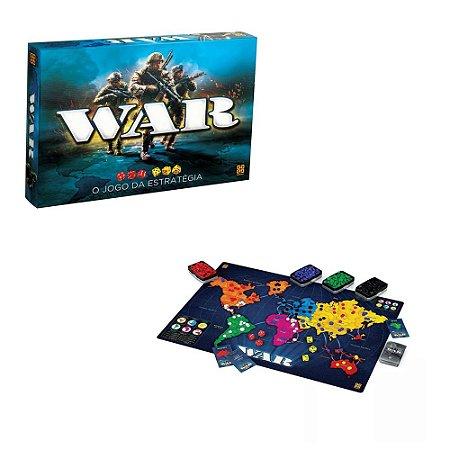 Jogo War- jogo da estratégia