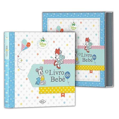 Álbum do Bebe Unissex Edição Luxo Disney
