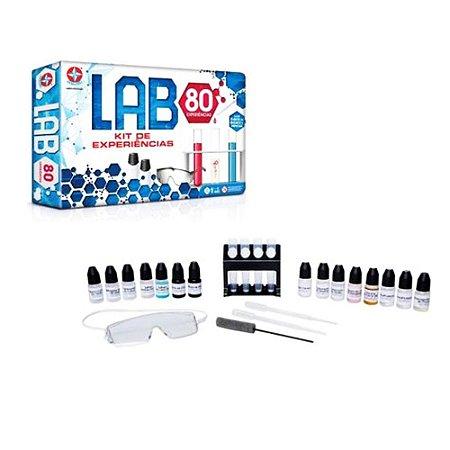 Jogo Lab 80 kit de experiências- Estrela