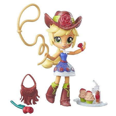 Apple Jack- Equestria Girls Minis - Coleção Festa Do Colégio