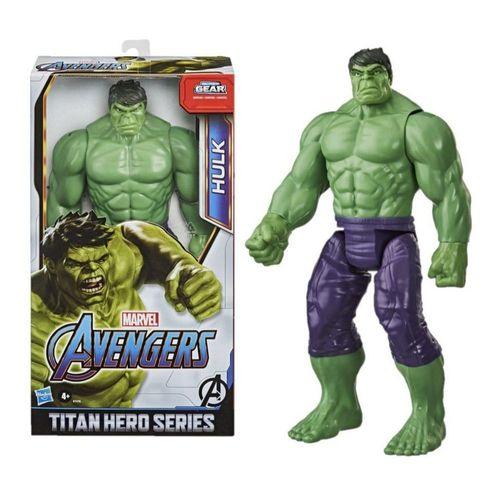 Boneco Hulk Titan Heroes Series Blast Gear - Hasbro