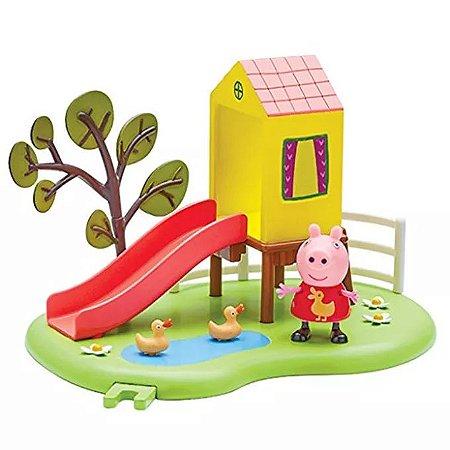 Peppa Pig Hora de Brincar com Escorregador