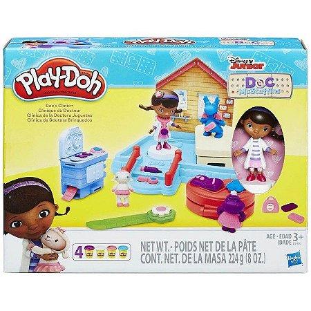 PLAY-DOH CLINICA DA DOUTORA BRINQUEDO B3403