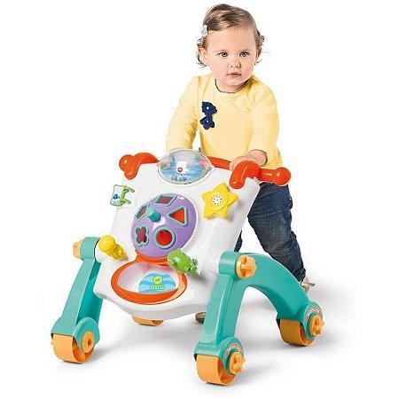 Andador Didático Branco - Calesita Brinquedos