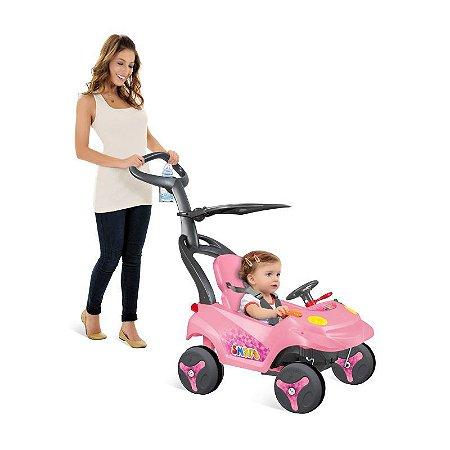 Smart Baby Reclinável Rosa - Bandeirante Brinquedos