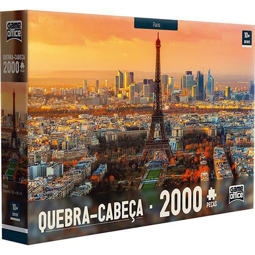 Quebra-Cabeça 2000 Peças de Paris