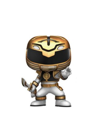 Pop Funko Power Rangers White Ranger