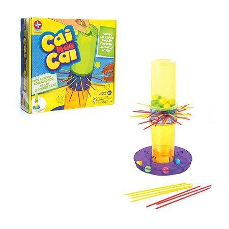 Jogo Cai Não Cai C/ Varetas Coloridas