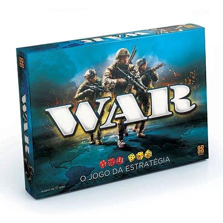 Jogo War Grow Jogo de Estratégia modelo Clássico