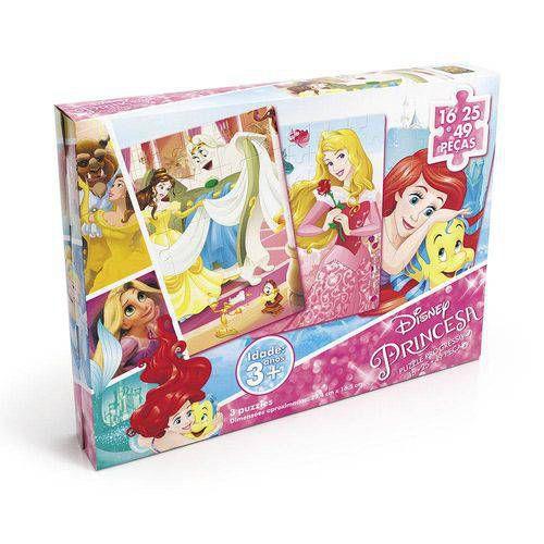 Jogo Puzzle Progressivo Princesas Grow