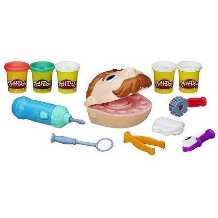Brinquedo Brincando de Dentista Play-Doh Original - Hasbro