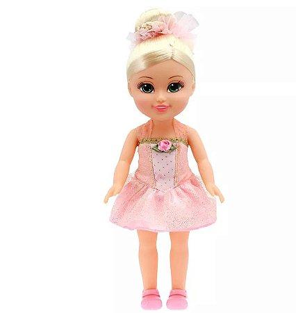 Boneca Funville Sparkle Girlz Bailarina Loira
